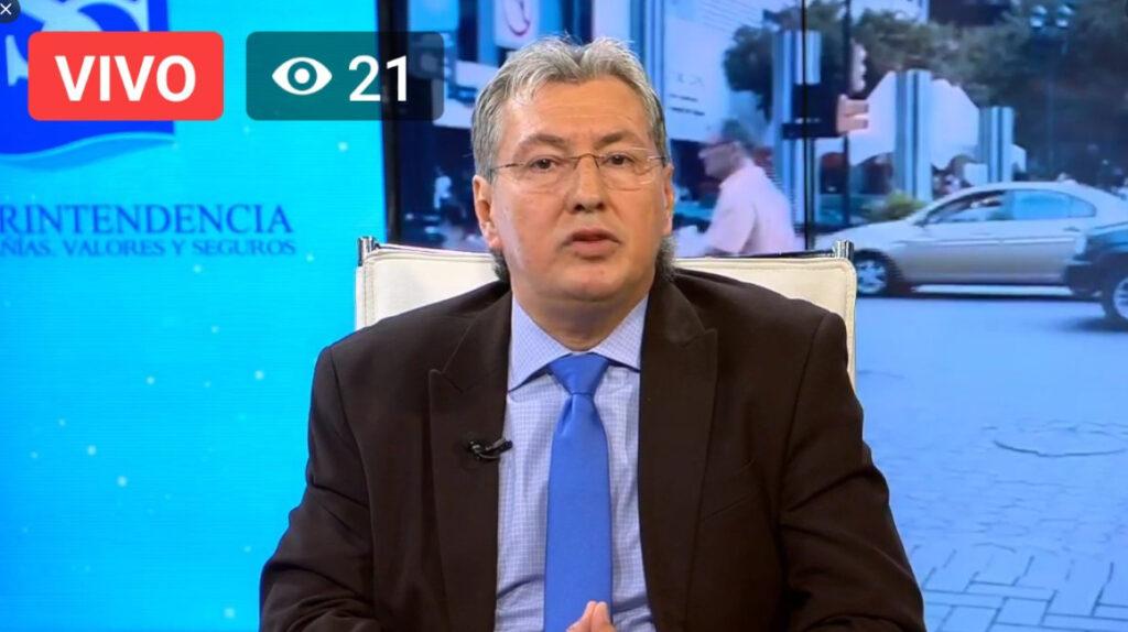 Carlos Murillo sale de la Intendencia Nacional de Mercado de Valores