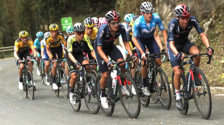 Richard Carapaz es uno de los favoritos para ganar la Vuelta a España 2020.