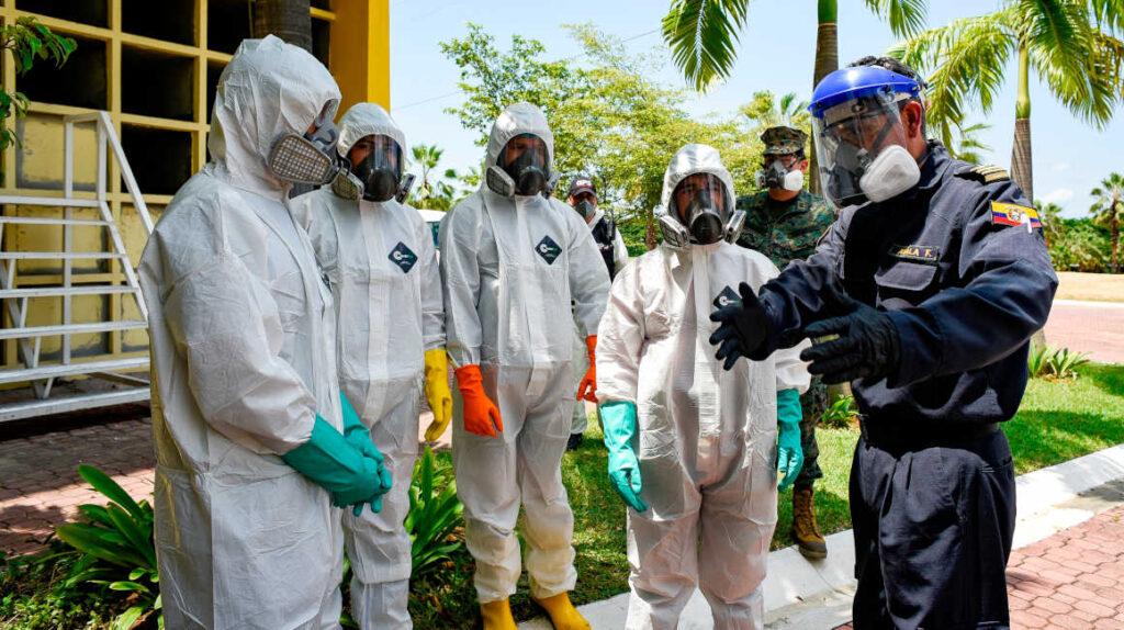 19 de octubre: Ecuador reporta 134 contagios y ocho fallecidos en un día