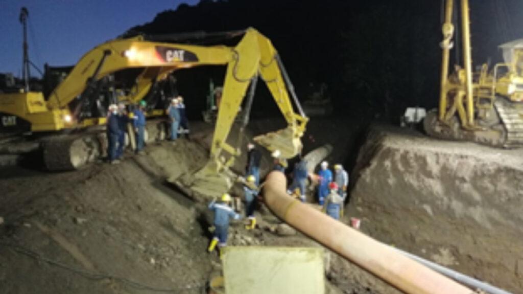 Las operaciones del SOTE reinician tras construcción de una variante