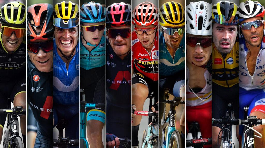 Los 10 favoritos para ganar la Vuelta a España 2020
