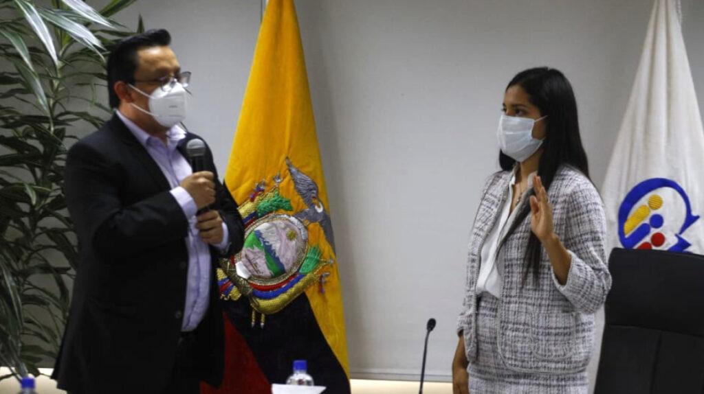 Francisco Bravo es el nuevo vicepresidente del CPCCS