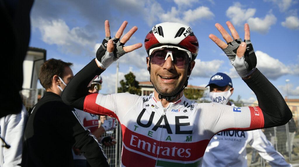 El italiano Diego Ulissi ganó la Etapa 13 en el esprint final