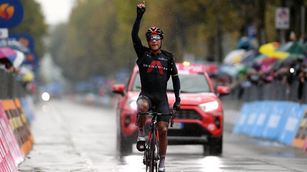 Jhonatan Narváez ganó en solitario la Etapa 12 del Giro de Italia