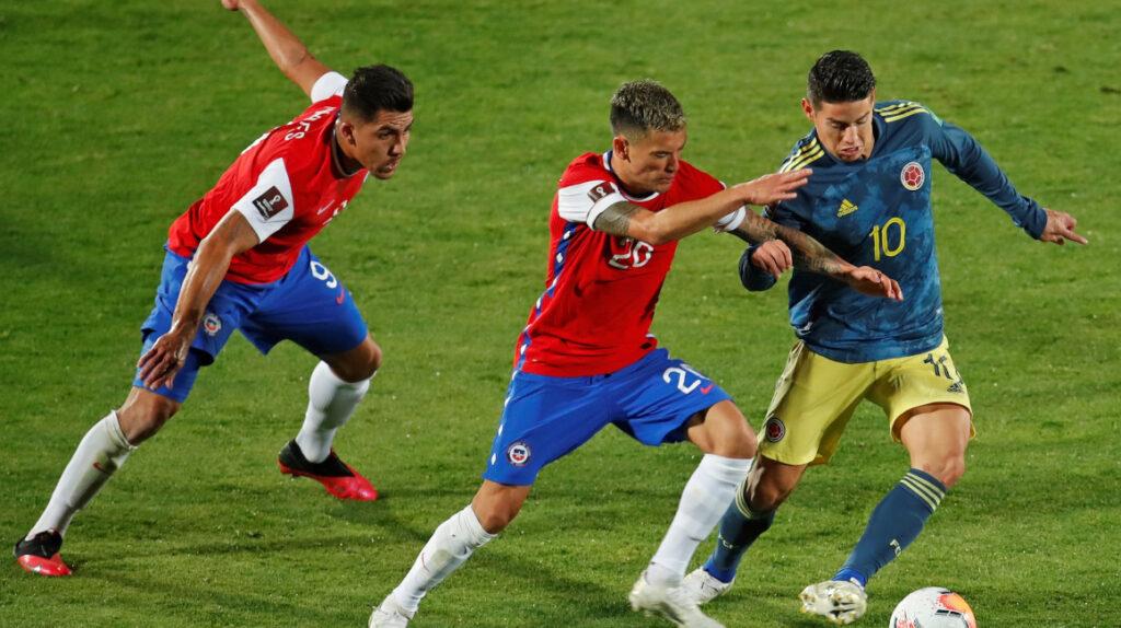 Radamel Falcao le da el empate a Colombia sobre Chile