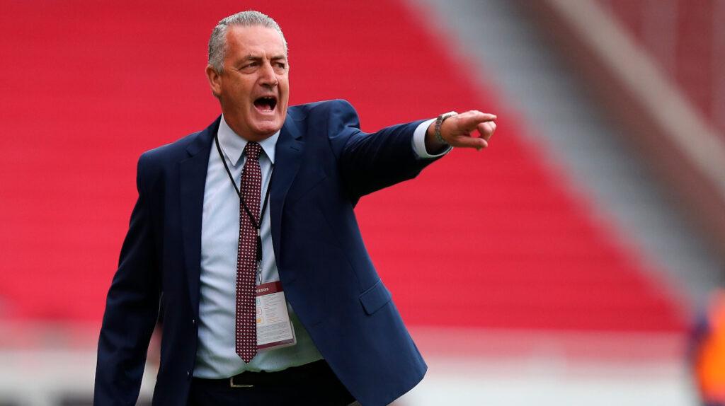 """Alfaro: """"No ganar contra Bolivia disminuiría el progreso del equipo"""""""