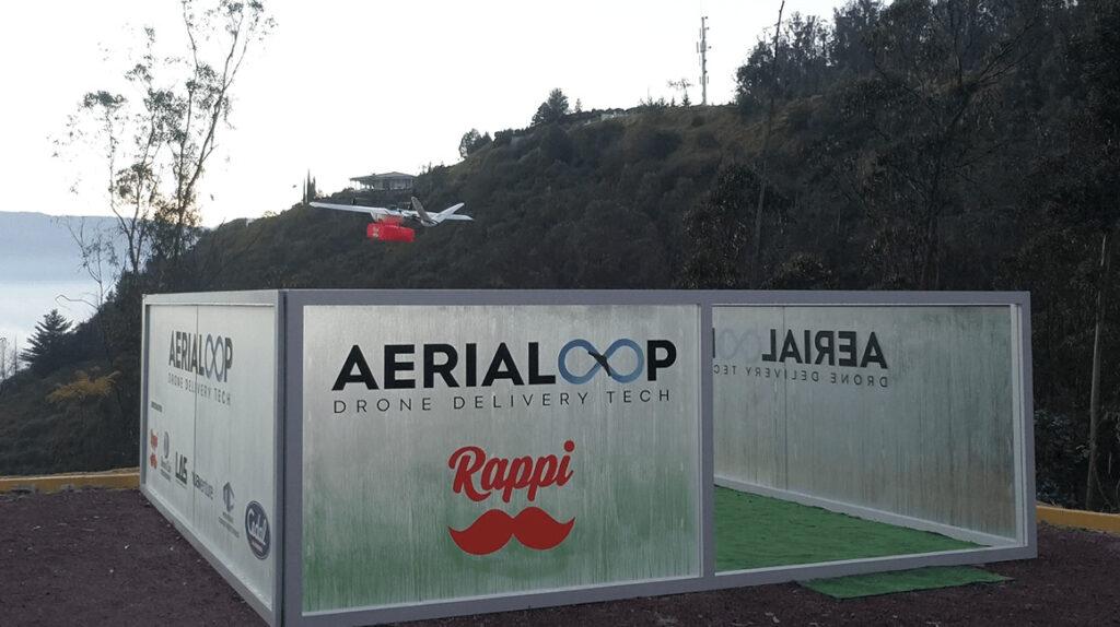 Rappi inicia un plan piloto de entregas con drones en Quito