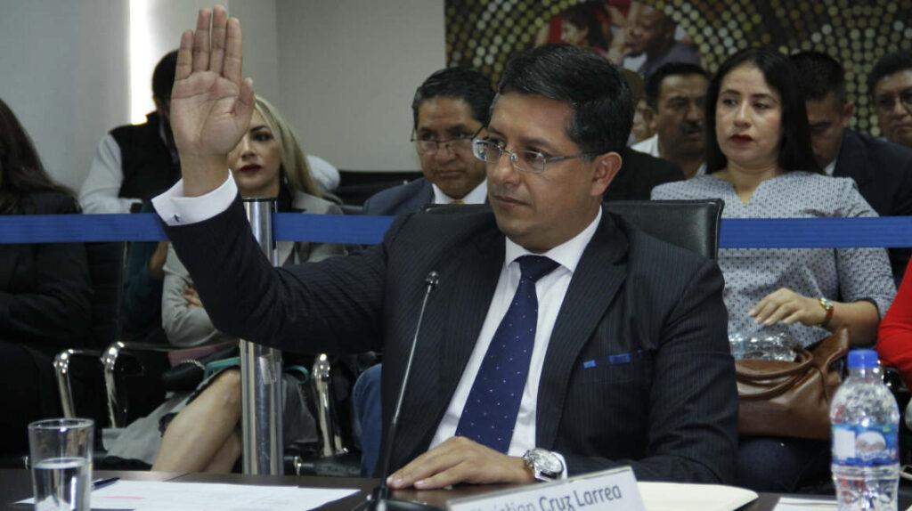 Cruz: Segundo presidente del Consejo de Participación destituido por la Asamblea