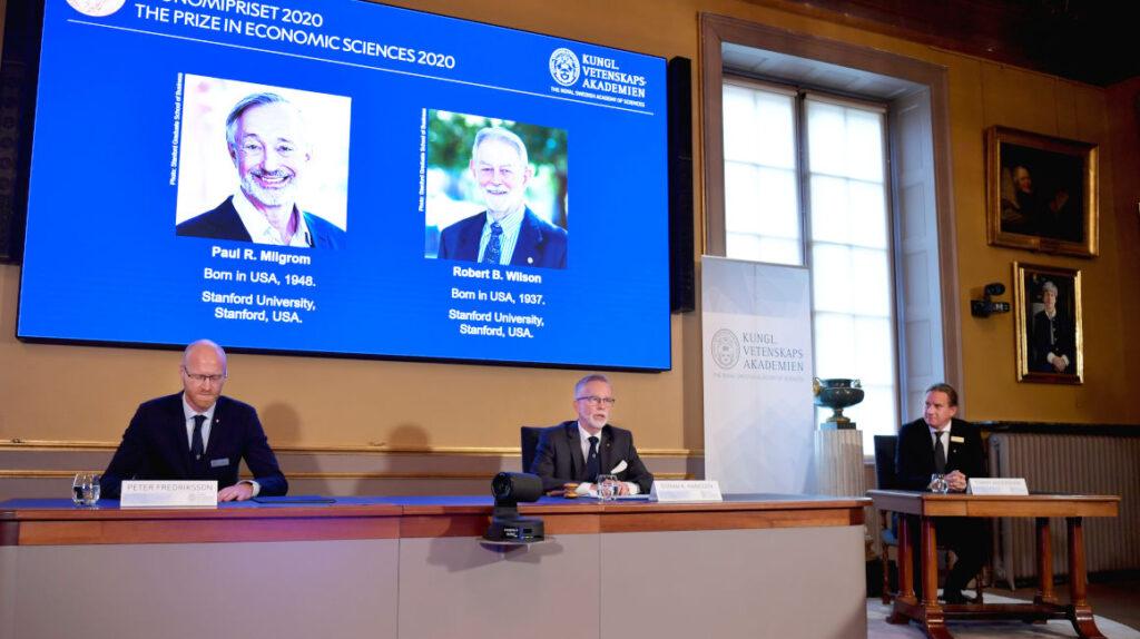 Nobel de Economía 2020 reconoce trabajo sobre teoría de subastas