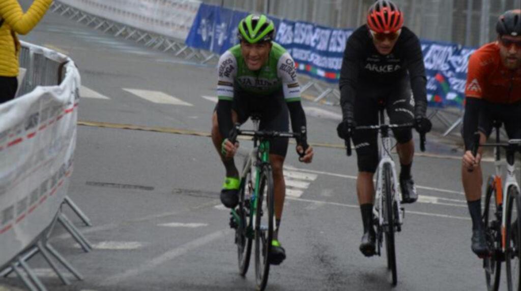 Jefferson Cepeda termina cuarto en la Prueba Villafranca-Ordiziako