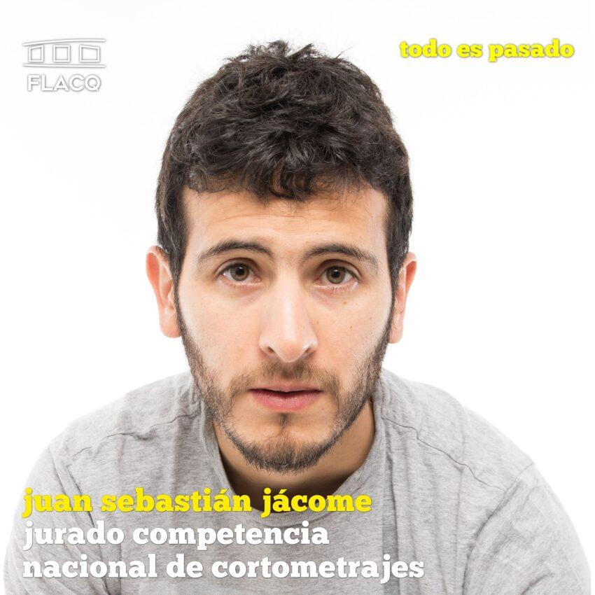 Juan Sebastián Jácome, jurado del concurso nacional de cortometrajes del FLACQ