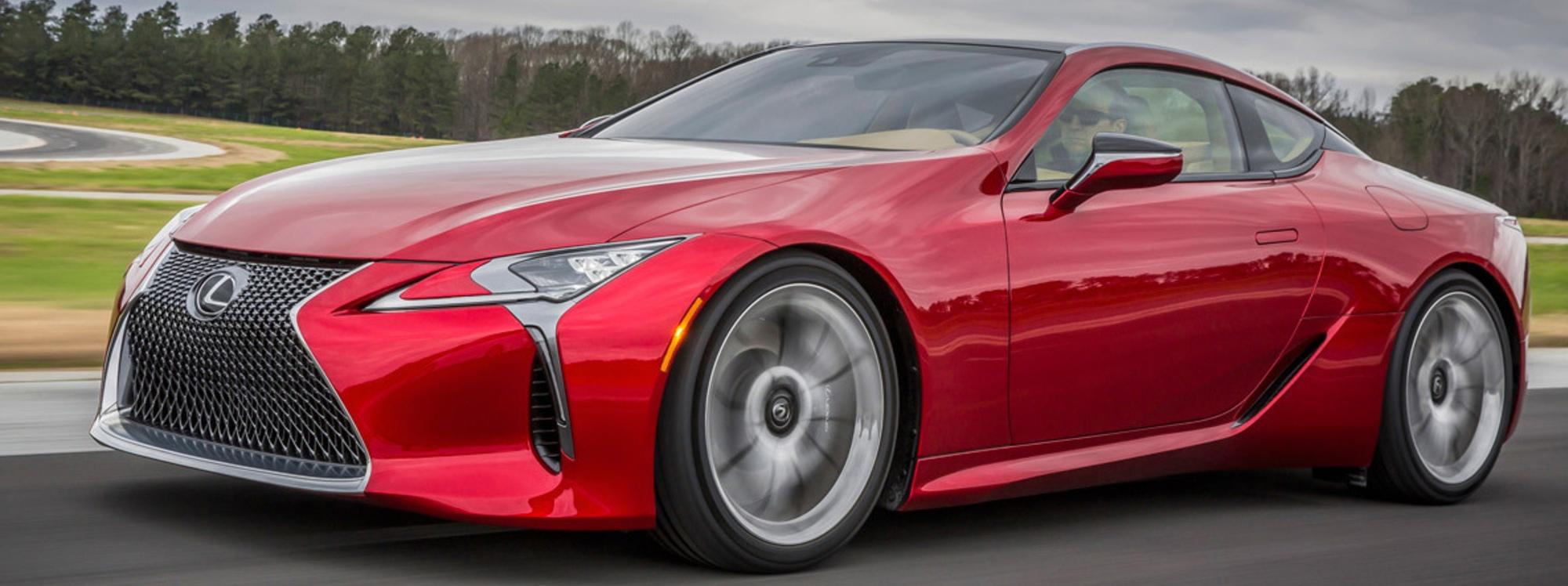 El Lexus LC 500 Coupé es un lujo para los sentidos