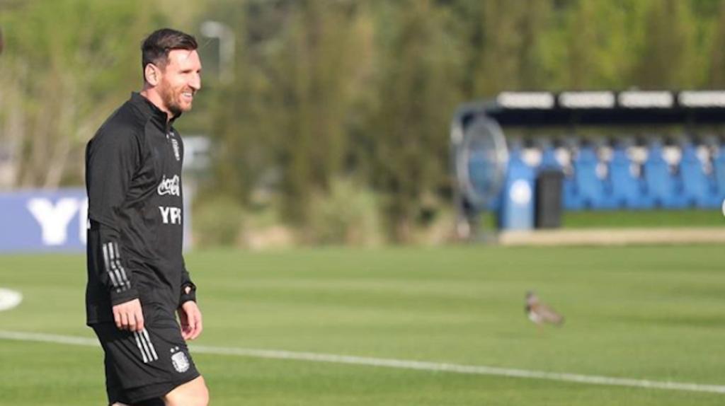 Argentina tuvo su segunda práctica antes de enfrentar a Ecuador