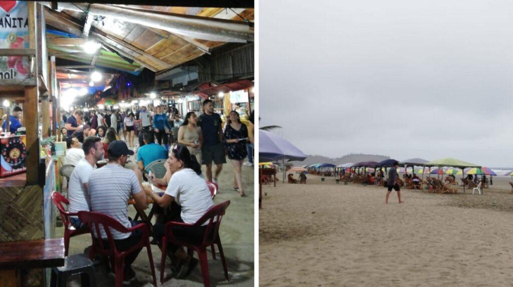 Temor a nueva ola de contagios en 54 playas reabiertas, sobre todo en Montañita