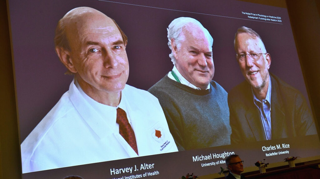 Científicos que identificaron la hepatitis C ganan Nobel de Medicina