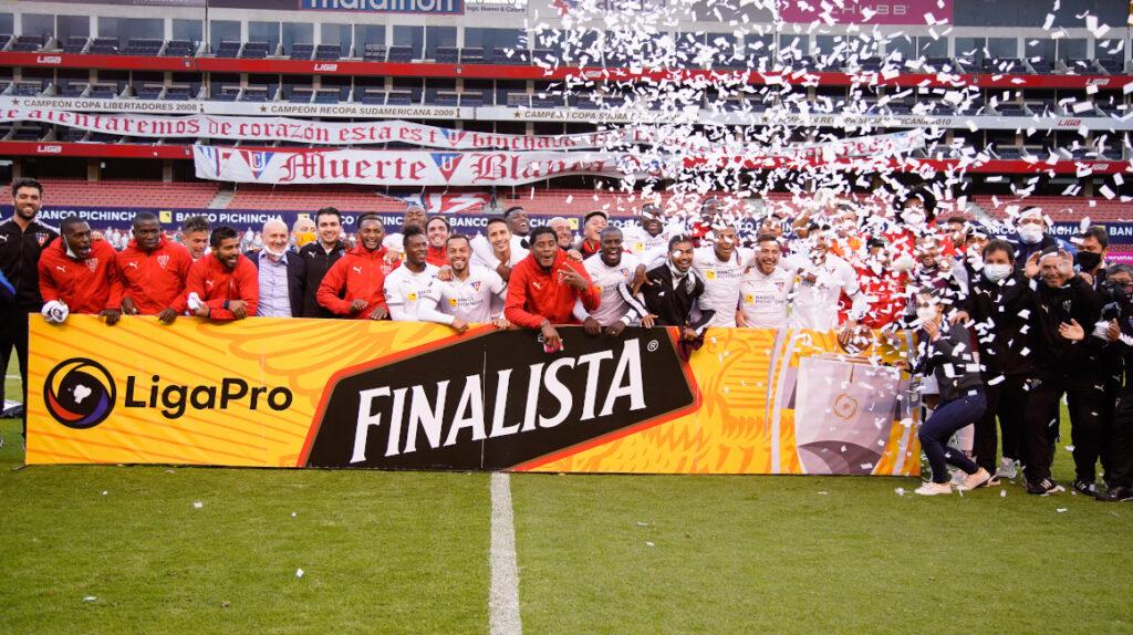Liga de Quito gana la etapa y es finalista del torneo