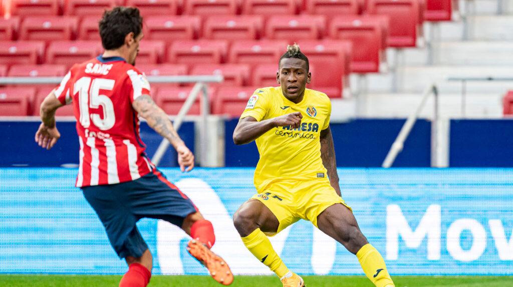 Pervis Estupiñán será baja por dos semanas en Villarreal por lesión muscular