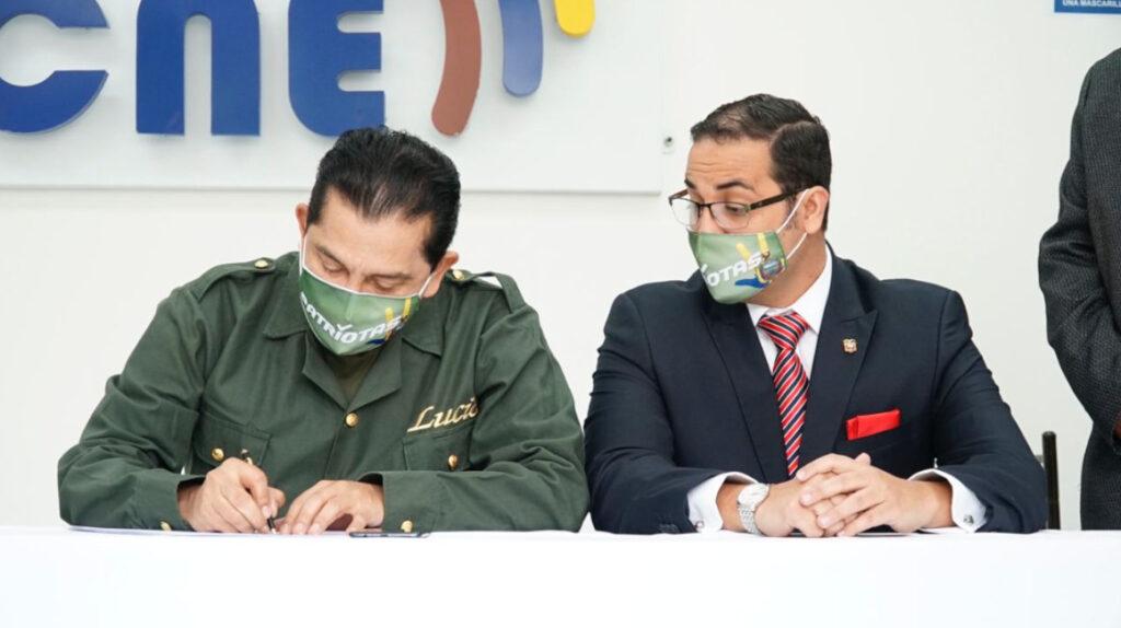 Sociedad Patriótica inscribe a Lucio Gutiérrez para la presidencia