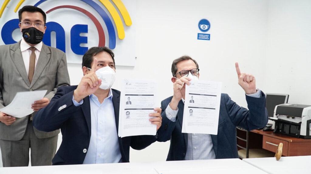 Centro Democrático reemplaza a Correa por Carlos Rabascall en su binomio
