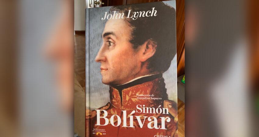 Portada de la biografía de John Lynch sobre Simón Bolívar.