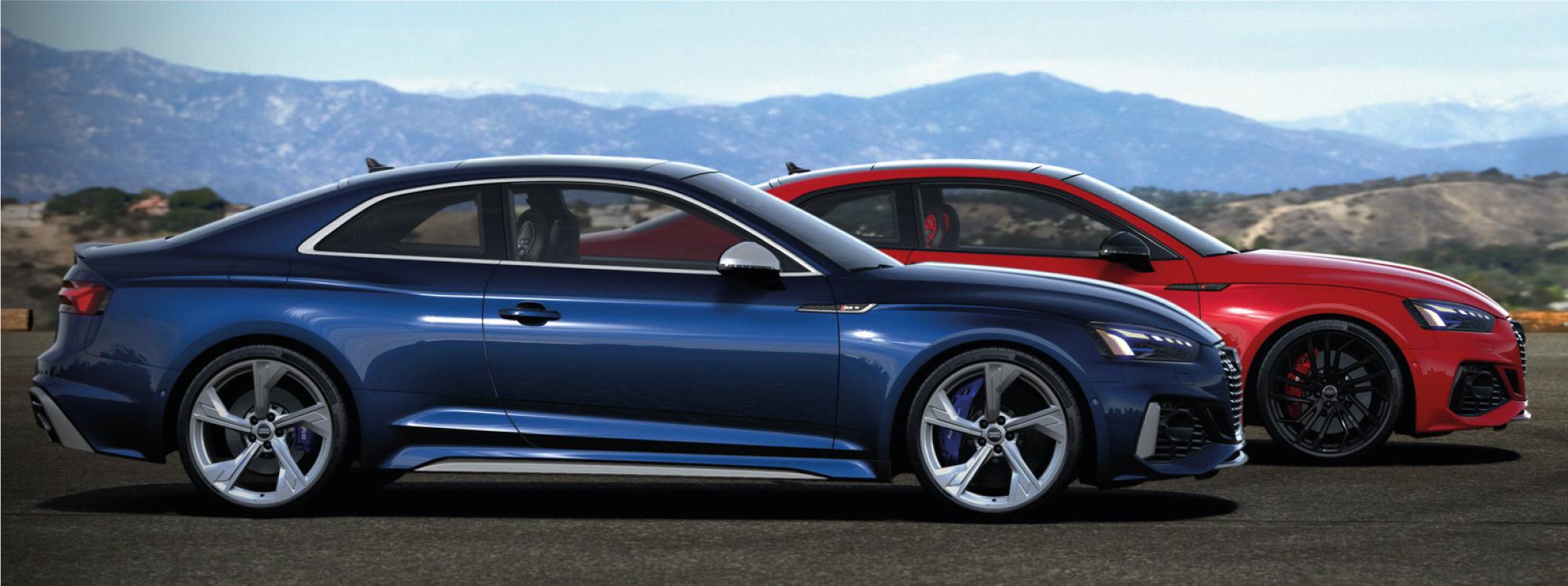 Audi lanzó al mercado el deportivo RS5 en dos versiones