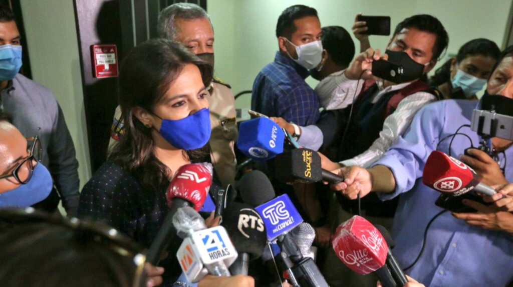 Juicio político contra María Paula Romo se resolverá dentro de un mes