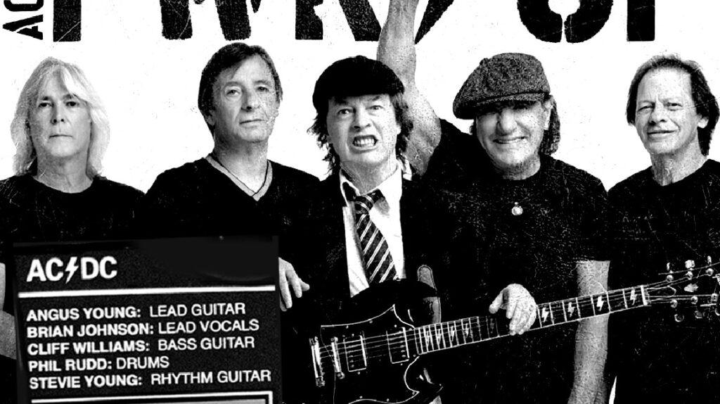 AC/DC anuncia disco y la vuelta del vocalista Brian Johnson