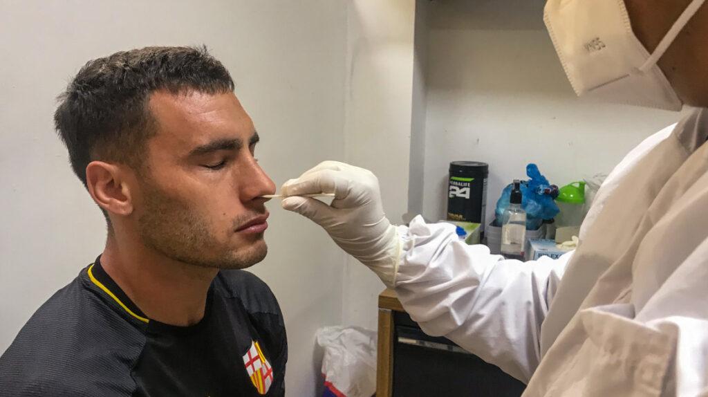 Barcelona se hará nuevas pruebas PCR al llegar a Guayaquil