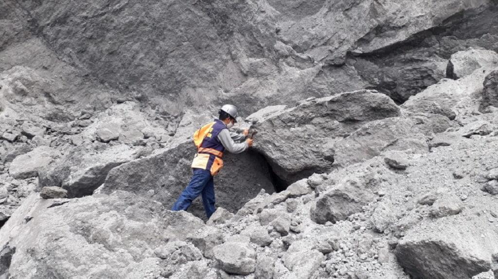 Celec toma muestras en la desaparecida cascada de San Rafael