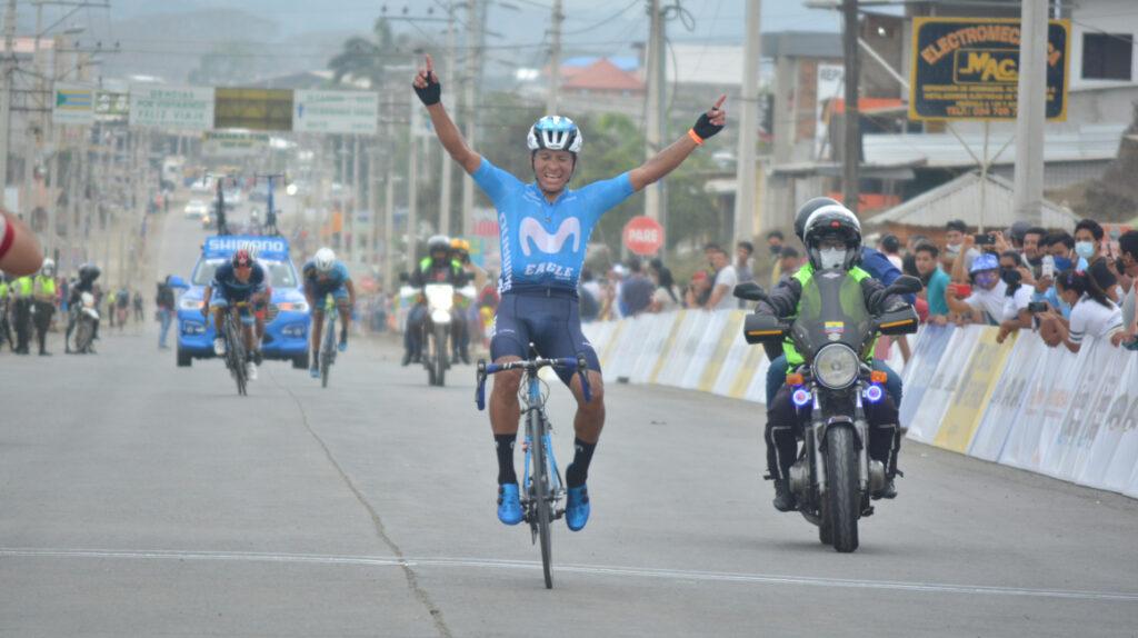 Cristian Toro se lleva la Etapa 1 de la Vuelta al Ecuador