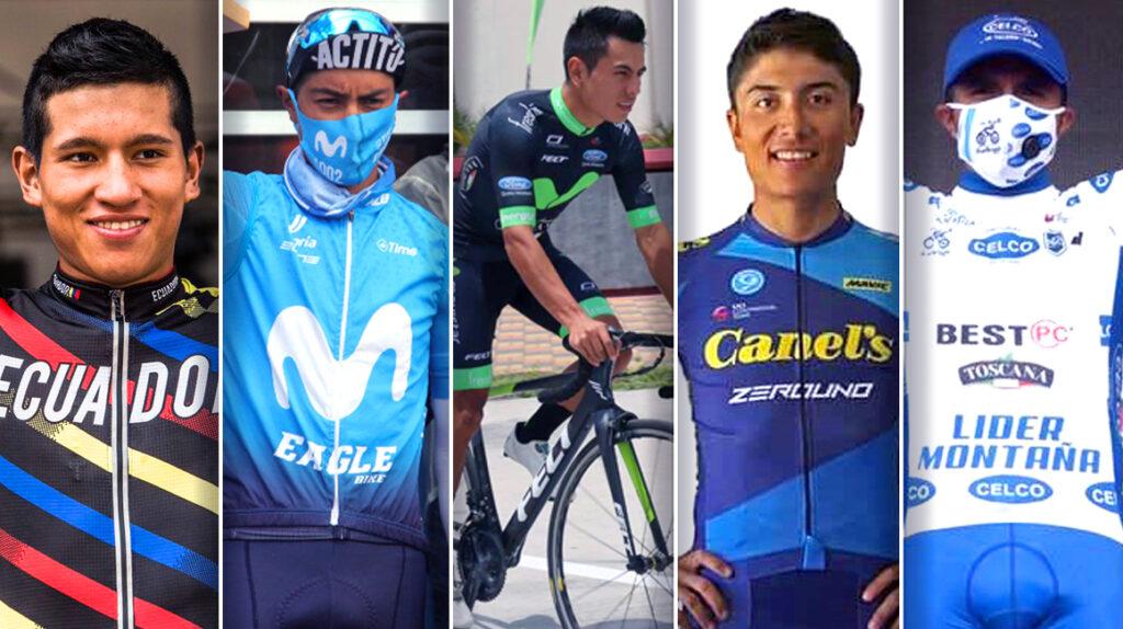 Los cinco favoritos para ganar la Vuelta ciclística al Ecuador 2020