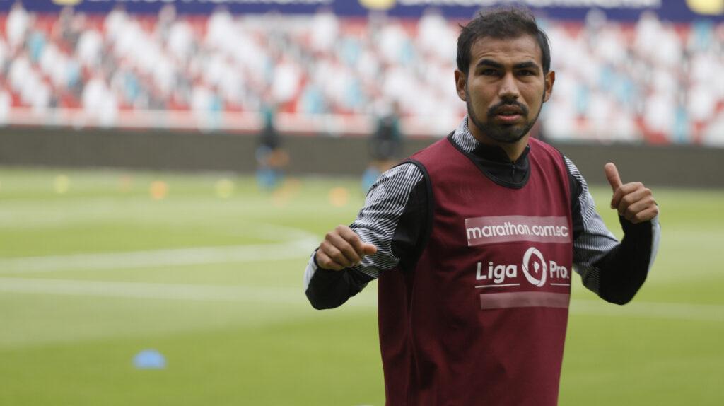 Junior Sornoza no seguiría en Liga de Quito para la próxima temporada