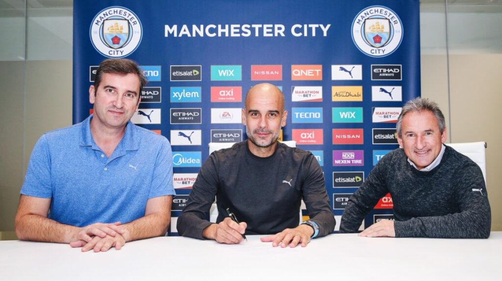 Pep Guardiola renueva dos años más con el Manchester City