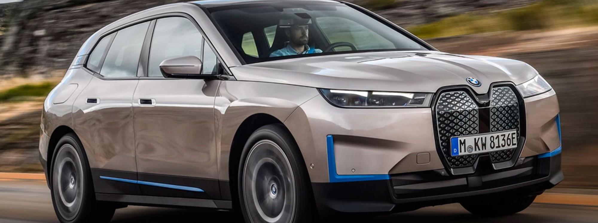 BMW anticipó un nuevo SUV eléctrico