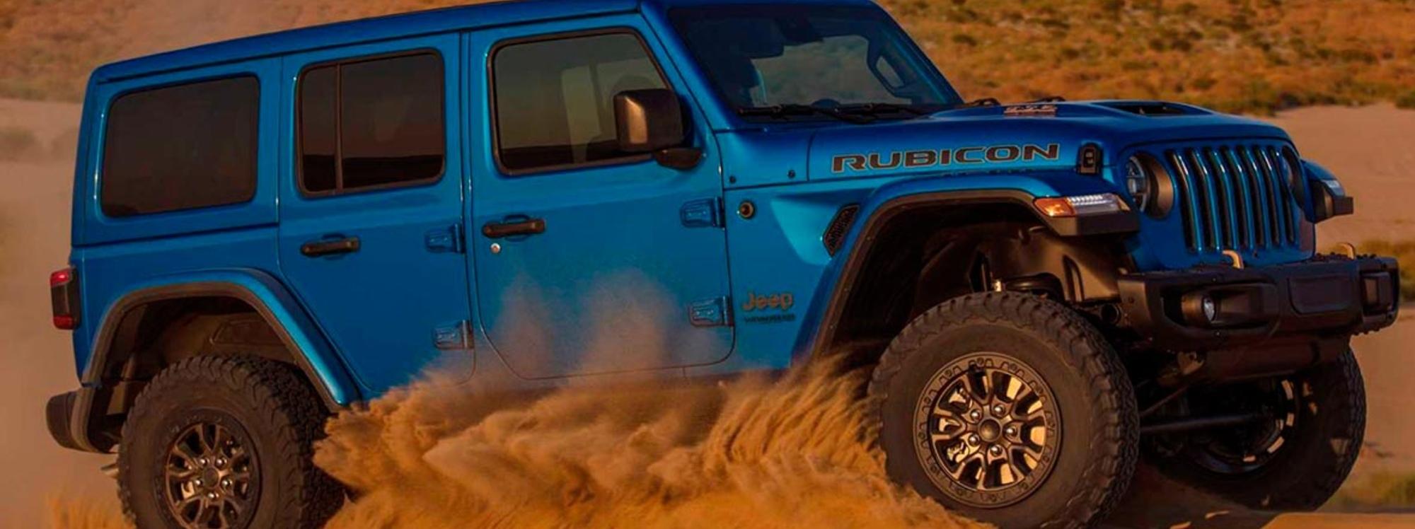 Jeep lanzará el Wrangler más potente de la historia