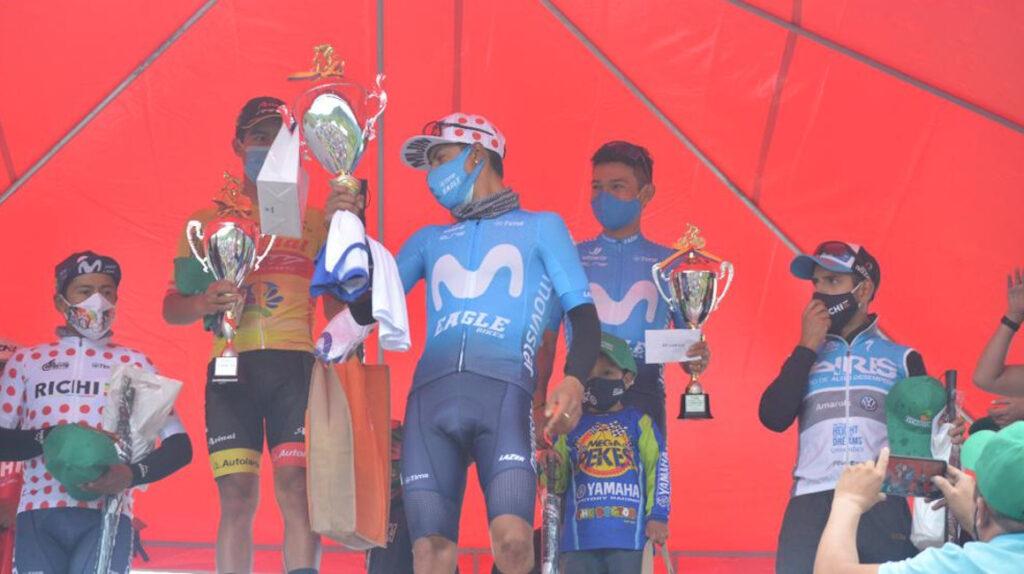Jorge Montenegro se coronó campeón de la Clásica Richard Carapaz