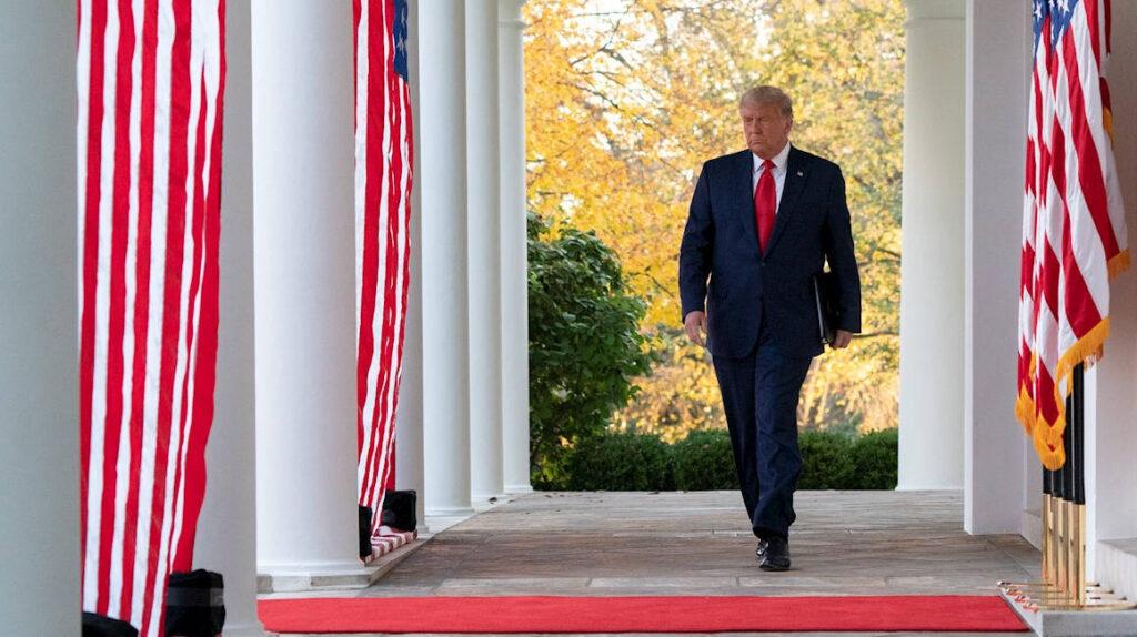 Trump sigue sin reconocer su derrota en su primera aparición en 8 días