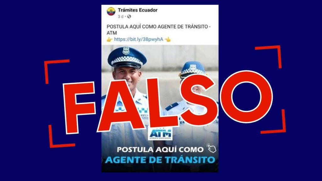 Tres noticias falsas que circularon esta semana en Guayaquil