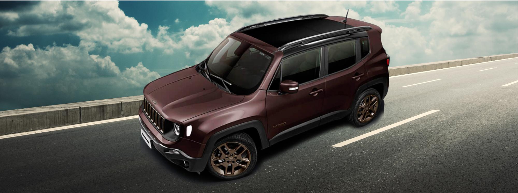 Bronze Edition: nueva versión especial del Jeep Renegade