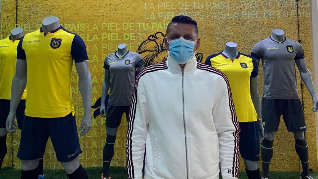 El delantero Carlos Garcés fue convocado a la selección ecuatoriana