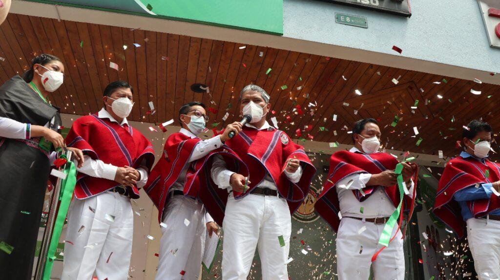 La cooperativa Mushuc Runa inauguró sucursal en Quito