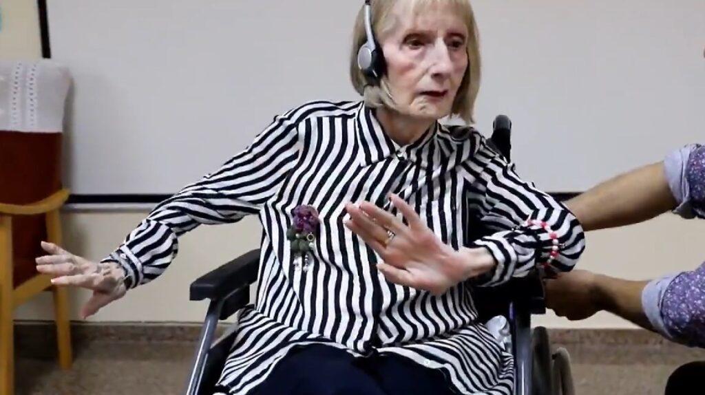 Homenaje a una bailarina con alzheimer se vuelve viral