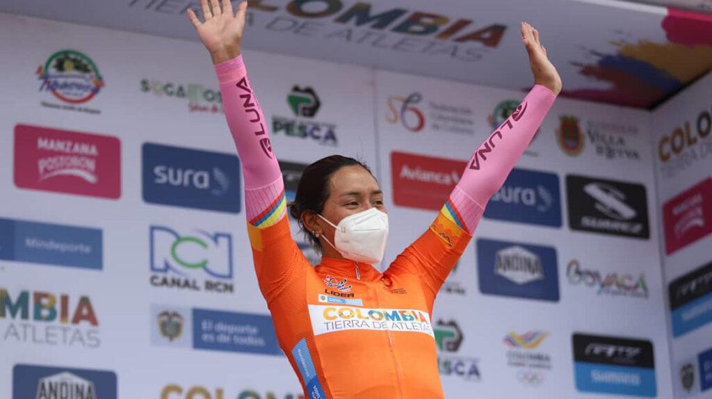 Miryam Núñez es la campeona de la Vuelta a Colombia