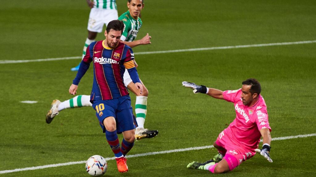 El FC Barcelona goleó al Betis y Messi hizo su gol 640 en el club