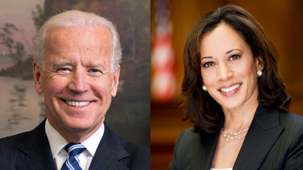 ¿Quiénes son Joe Biden y Kamala Harris?