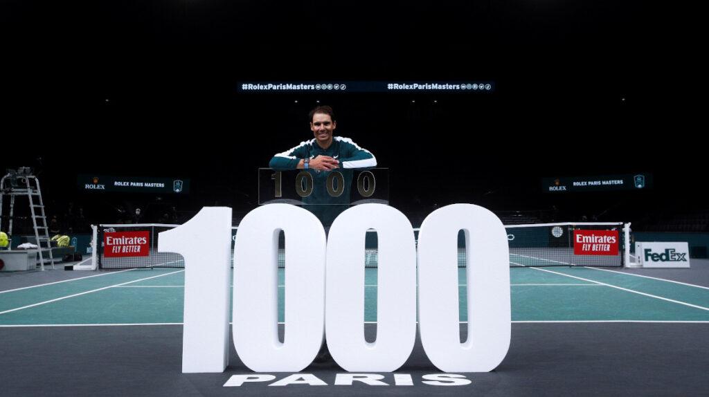 Rafael Nadal alcanza su victoria 1.000 en el circuito ATP