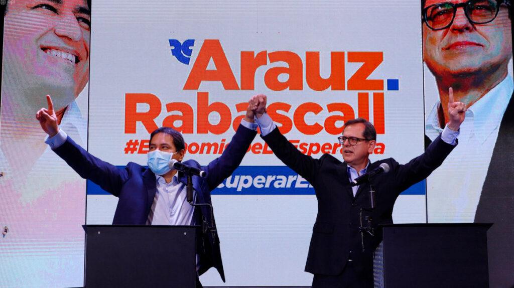 Las propuestas con las que Andrés Arauz planea llegar a Carondelet