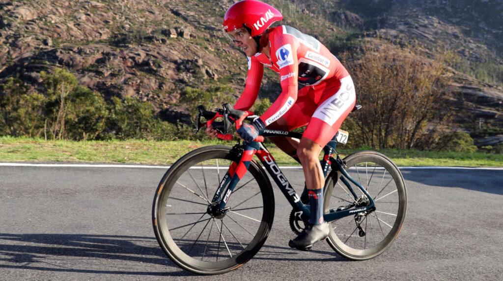 """Carapaz: """"Hemos venido a ganar la Vuelta y ese es nuestro objetivo"""""""