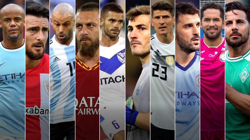 10 futbolistas que pusieron fin a su carrera en la temporada 2020