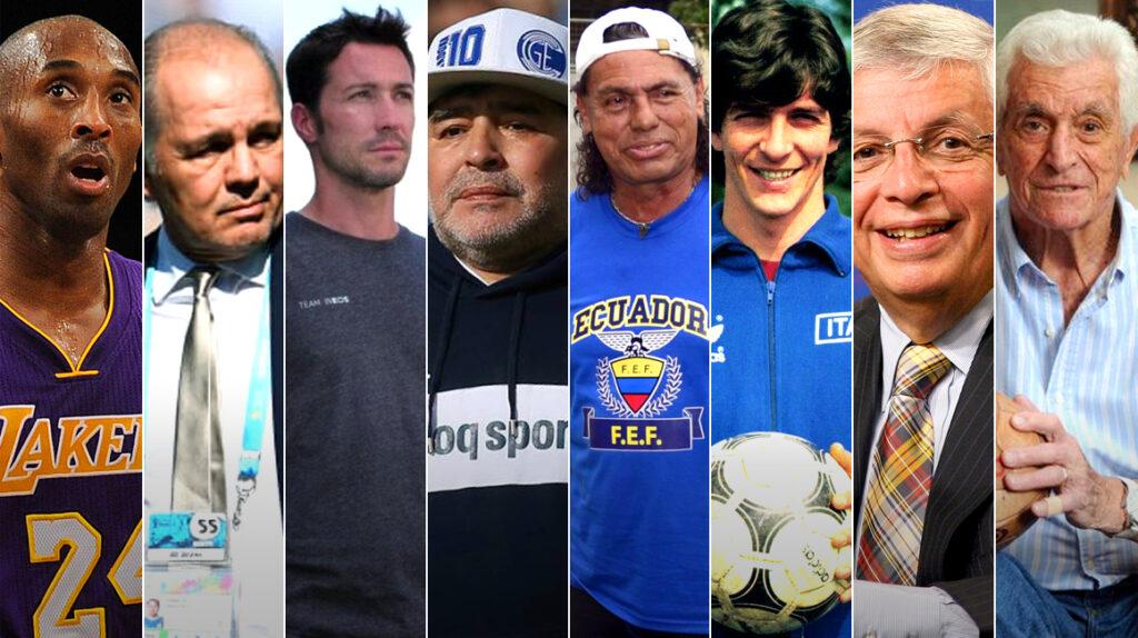 Ocho personalidades del deporte mundial que murieron en 2020